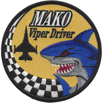 93rd Fighter Squadron Mako Patch