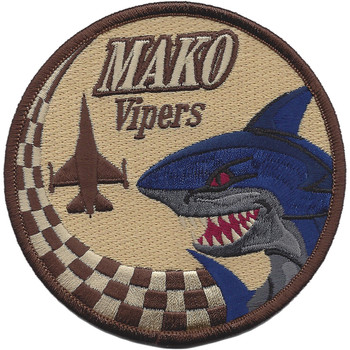 93rd Fighter Squadron Desert Mako Patch