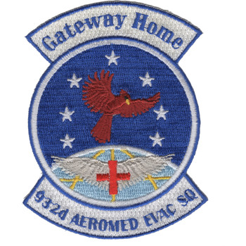 932nd Aeromedical Evacuation Squadron Patch