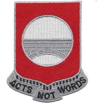 91st Engineer Battalion Patch