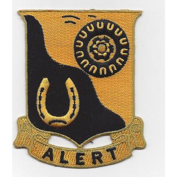 91st Cavalry Regiment Patch
