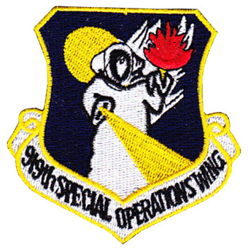 919th Special Operations Wing Patch
