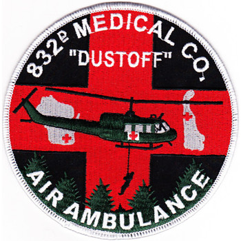 832nd Aviation Medical Company Air Ambulance Patch
