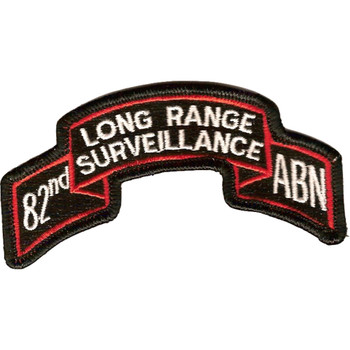 82nd LRS Airborne Infantry Patch