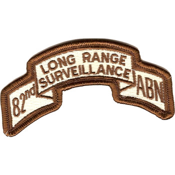 82nd LRS Airborne Infantry Desert Patch