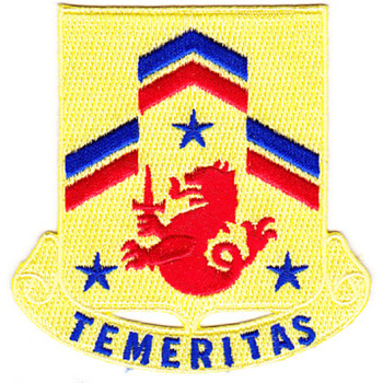 82nd Cavalry Regiment Patch