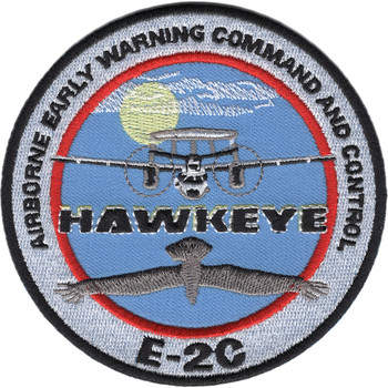 Airborne Early Warning Command And Control Patch Hawkeye E-2C