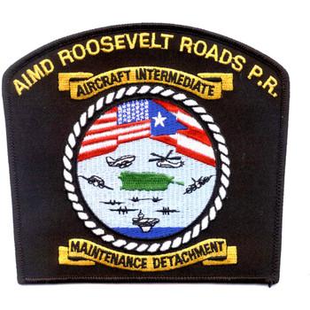 AIMD Aircraft Intermediate Maintenance Detachment Roosevelt Roads P.R. Patch