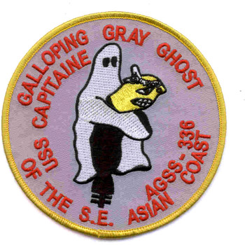 AGSS-336 USS Capitaine Patch