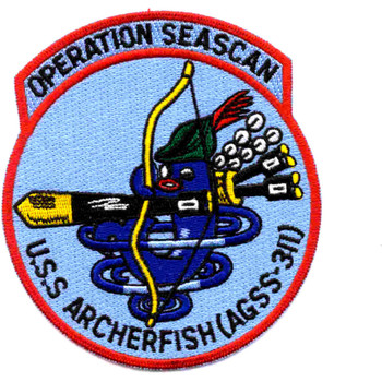 AGSS-311 Archerfish Operation Seascan Patch