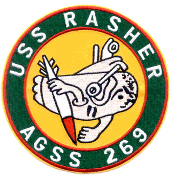 AGSS-269 USS Rasher Patch - Version C