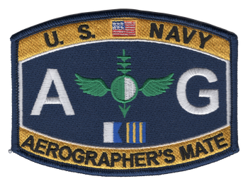 Aviation Aerographer's Mate Rating Patch - AG