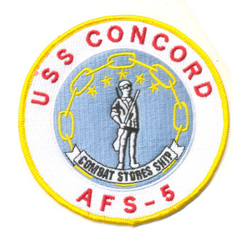 AFS-5 USS Concord Patch