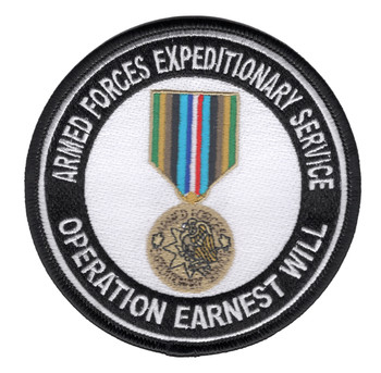 AFES Operation Earnest Will Patch
