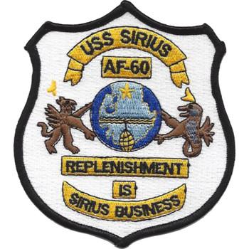 AF-60 USS Sirius Patch