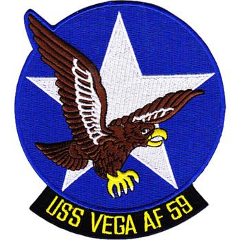 AF-59 USS Vega Rigel Class Stores Ship Patch