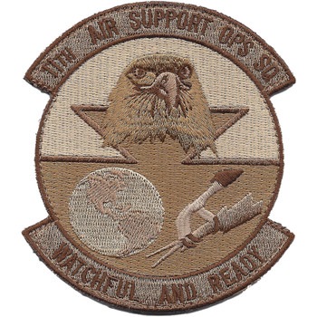 AF-11th Air Support Ops Sq Patch Hook And Loop