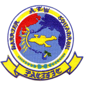 AEW Aviation Airborne Early Warning Barrier Squadron Pacific Patch