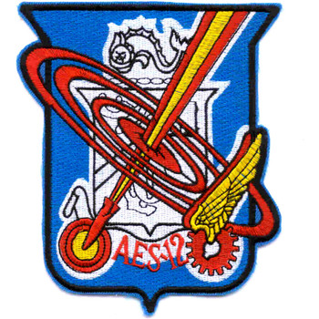 AES-12 Aircraft Engineering Squadron Patch