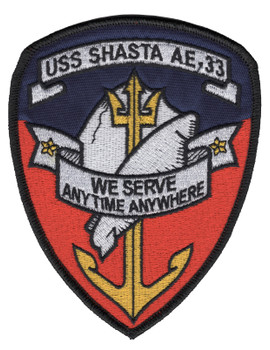 AE-33 USS Shasta Patch