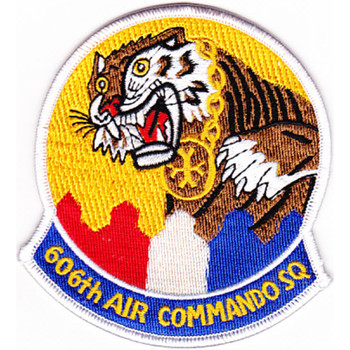 606th Air Commando Squadron Patch