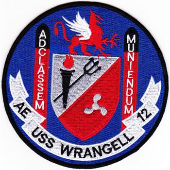 AE-12 USS Wrangell Patch