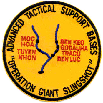Advanced Tactical Support Base Patch Operation Giant Slingshot