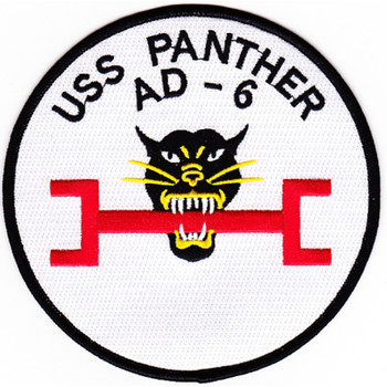 AD-6 USS Panther Patch