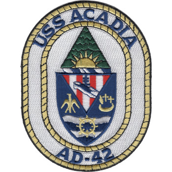 AD-42 USS Acadia Patch