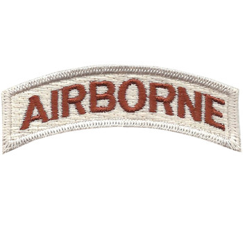 Army Airborne Rocker Desert Patch