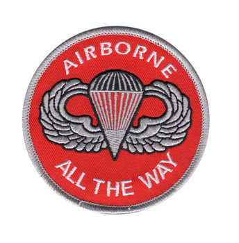 Army Airborne All The Way Patch