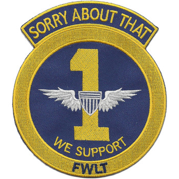 Army 1st Aviation Company FWLT Vietnam Patch