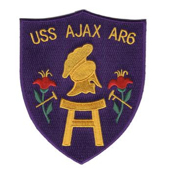 AR-6 USS Ajax Patch