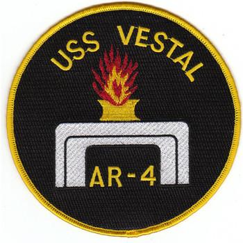 AR-4 USS Vestal Patch