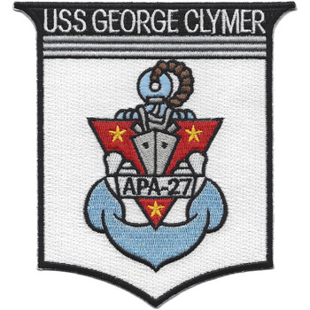 APA-27 USS George Clymer Patch