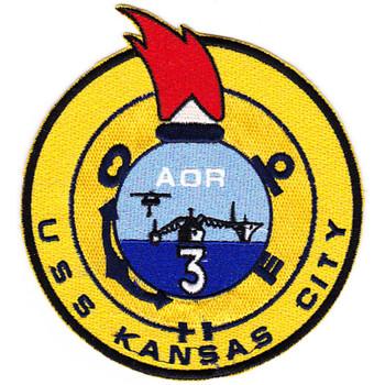 AOR-3 USS Kansas Patch