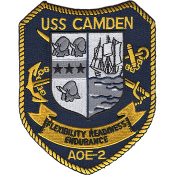 USS Camden AOE-2 Patch - Fast Combat Support Ship
