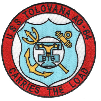 AO-64 USS Tolavana Patch
