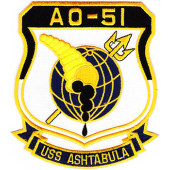 AO-51 USS Ashtabula Patch