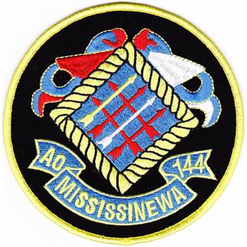 AO-144 USS Mississinewa Fleet Oiler Patch