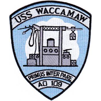 AO-109 USS Waccamaw Patch