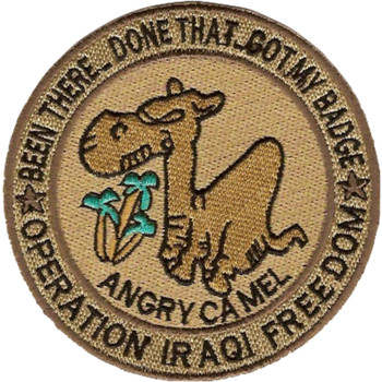 Angry Camel Patch Been There Done