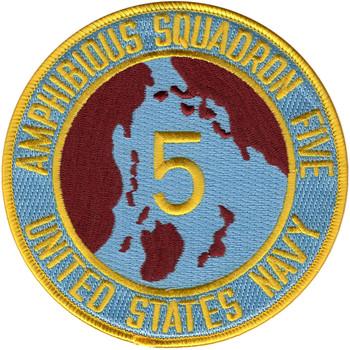Amphibious Squadron Five Patch Phibron 5