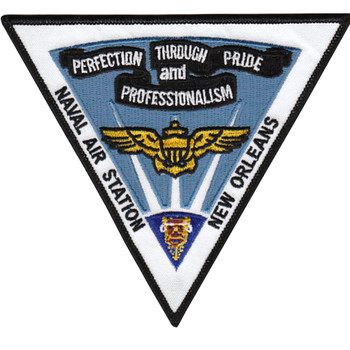 Air Station NAS New Orleans Louisiana Patch