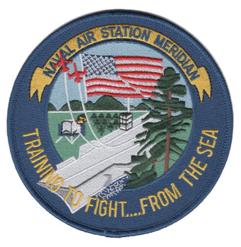 Air Station NAS Meridian MS Patch