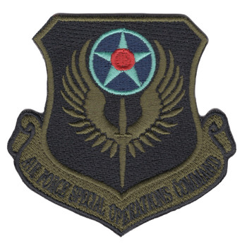 Air Force Special Operations OD Patch