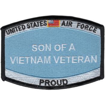 Air Force Son Of A Vietnam Veteran Patch