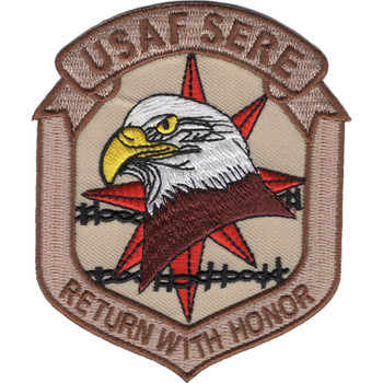 Air Force SERE Training Patch Return With Honor Desert