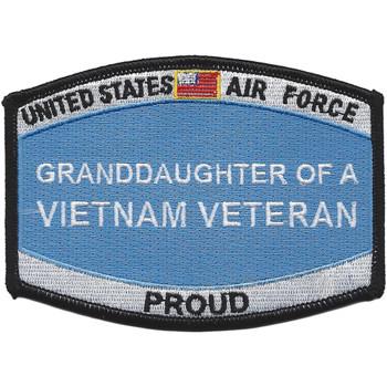 Air Force Grand-Daughter Of A Vietnam Veteran Patch