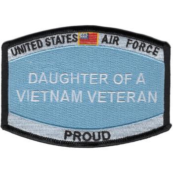 Air Force-Daughter Of A Vietnam Veteran Patch